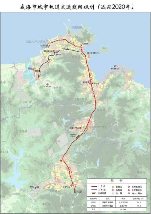 《威海市城市轨道交通线网规划》通过专家评审